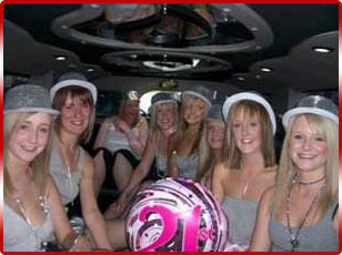 Pink Hummer Birthday Limo Hire